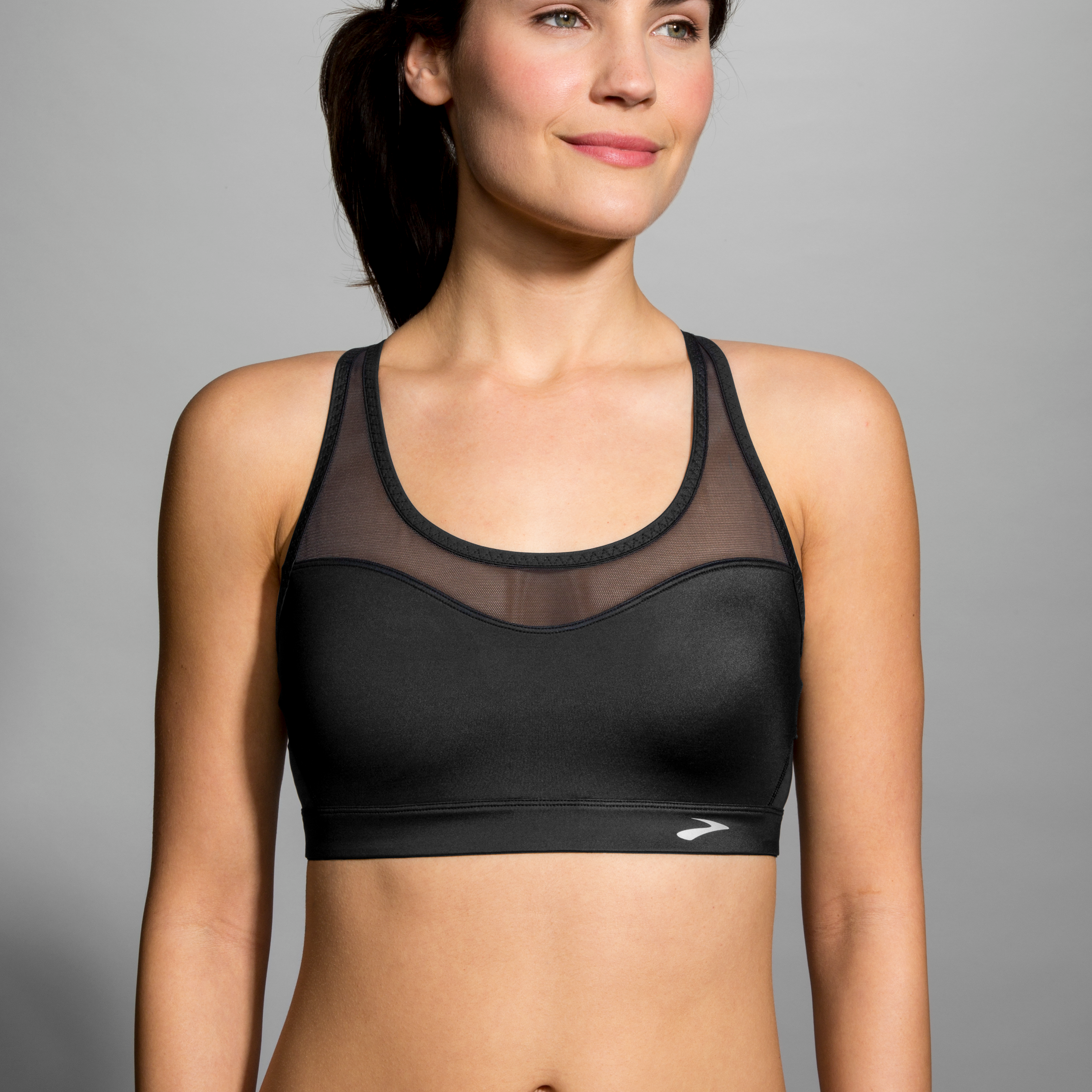 33a9d39dbf3e9 The FastForward Crossback is Brooks  answer to a great bra plus a great  pricepoint. This medium impact bra is stylish and offers full adjustability  - for ...