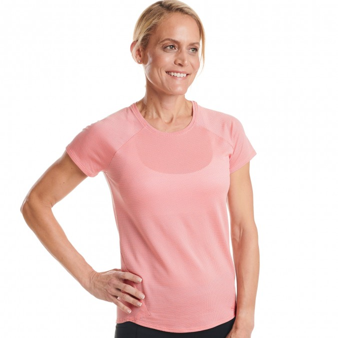 Flyout Short Sleeve - Fast Pink