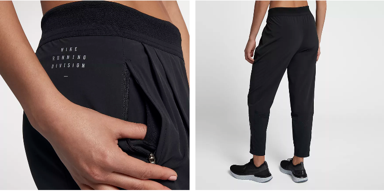 8eb9a1fa4129 The Nike Run Division Women s Running Pants are made with lightweight  stretch fabric for comfort and freedom to move during your run.