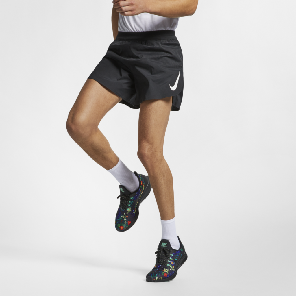 "Men's Nike Aeroswift Short 5"" in Black (also available in 2"")"