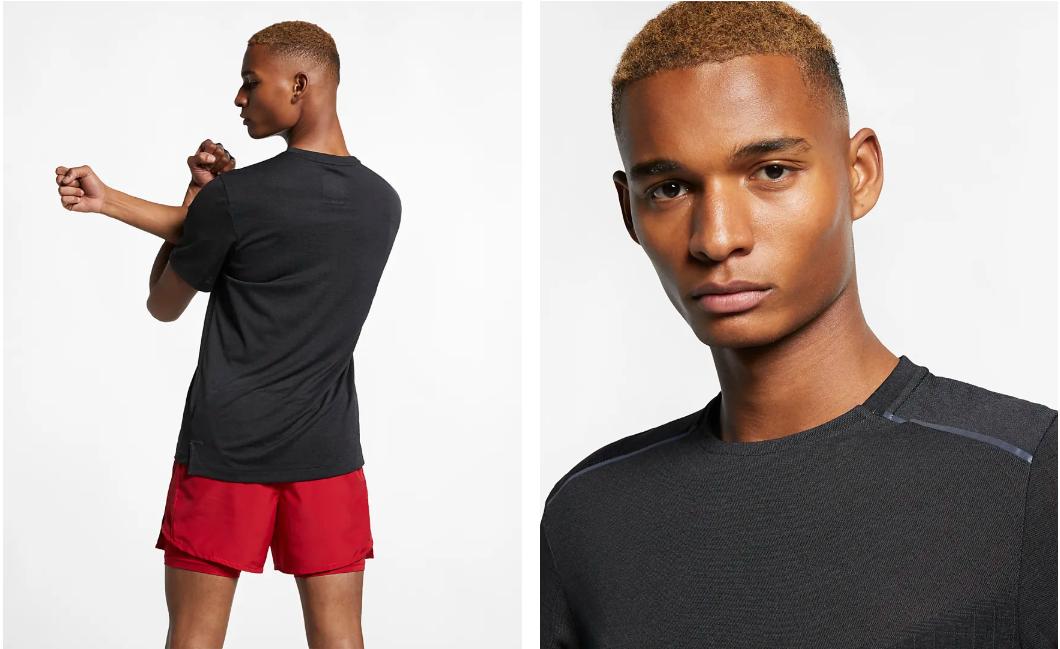 Men's Tech Pack Short Sleeve // Black