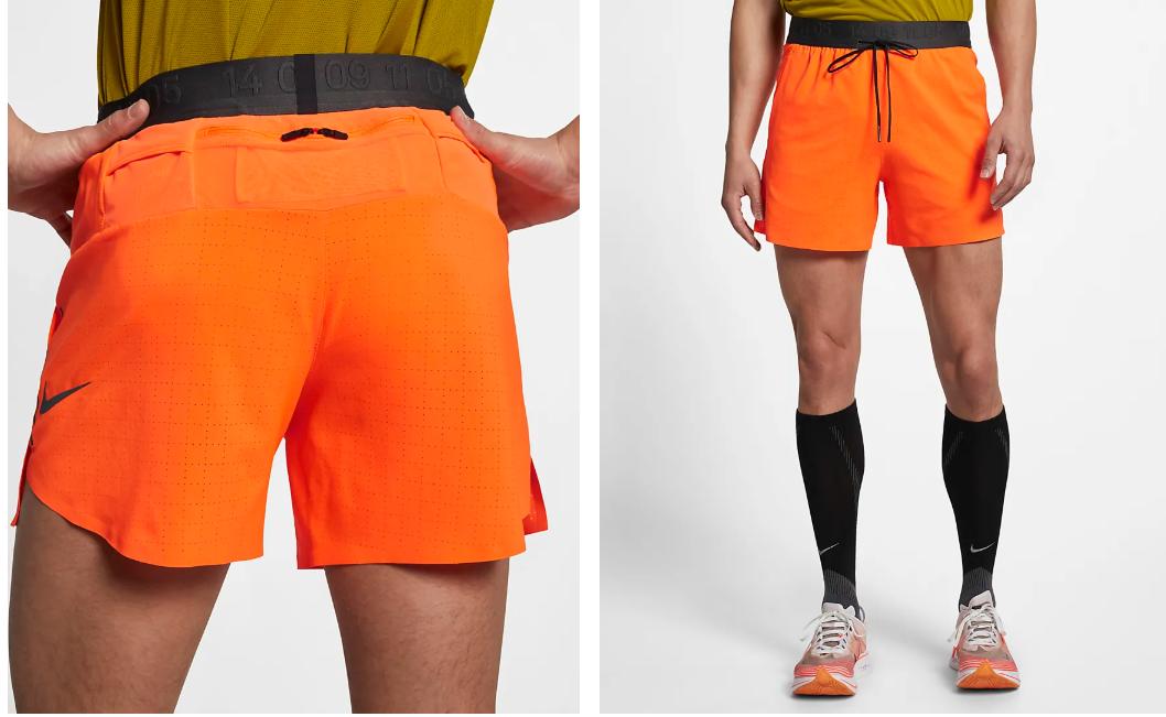 Men's Tech Pack Short // Orange