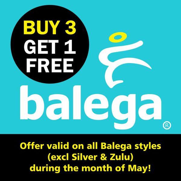 Buy: Buy 3 Balega Socks, Get 1 Free During May