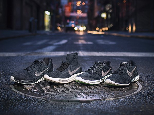 size 40 b6b3d 8d601 Own the Night in the Nike Lunar Midnight Pack