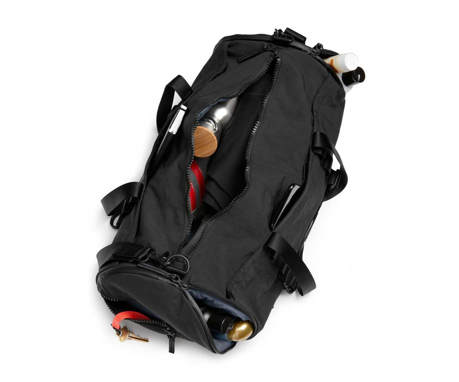 Crafted With 1000d Sail Cloth For A More Durable Feel This Amazing Bag Is Designed To Go Everywhere You The Gym Or On Plane