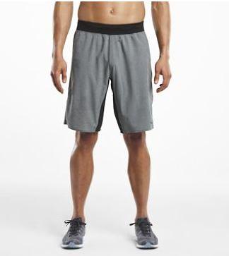 lotr jogger short gray