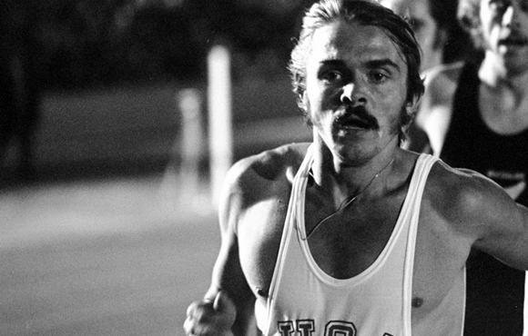 Coos Bay native and secular saint Steve Prefontaine cannot be pleased