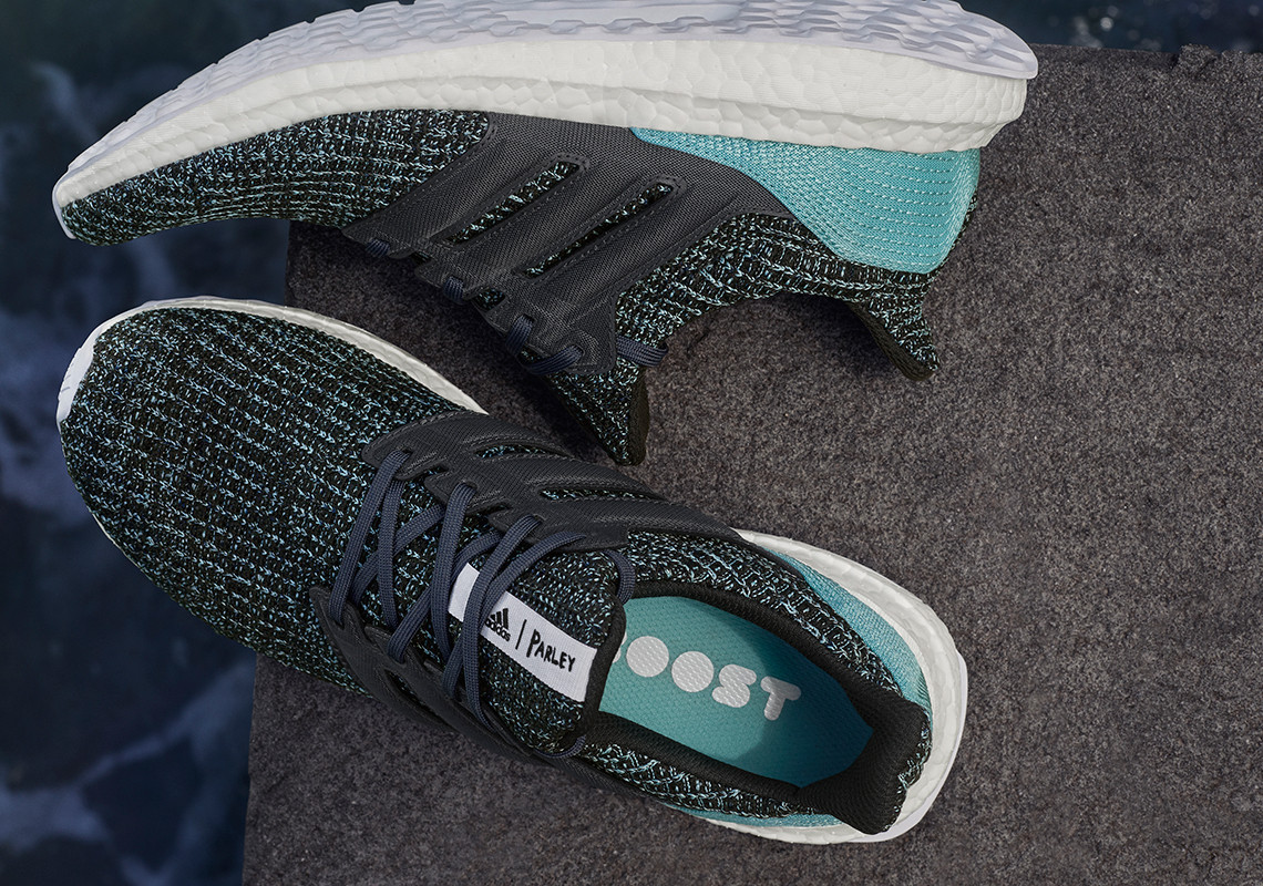 adidas Ultra Boost 4.0 Parley Carbon Blue CG3673